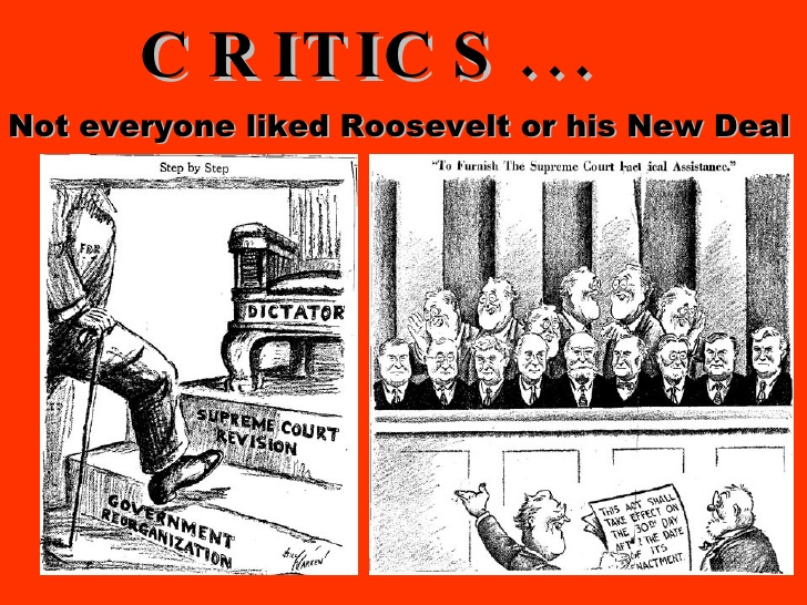 the new deal critics